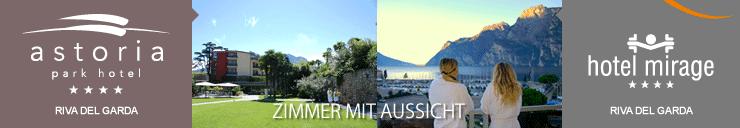 Hotel Mirage **** e Park Hotel Astoria **** Lusso a Riva del Garda