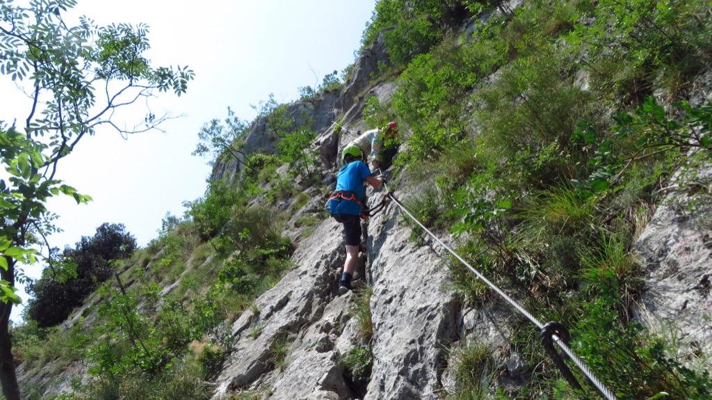 Klettersteigset Verleih Arco : Der klettersteig gardasee