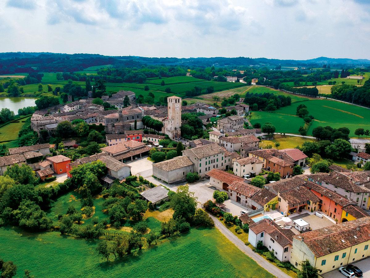 monzambano gardasee karte Ab in den Süden: Ponti sul Mincio, Monzambano, Castellaro