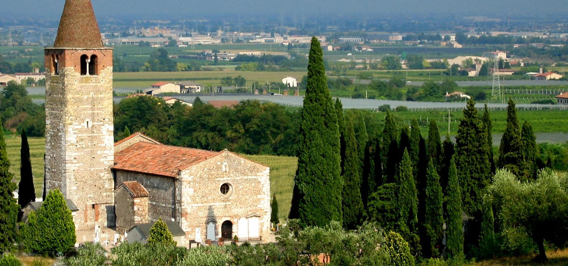 Romanische Pieve di Santa Giustina in Palazzolo
