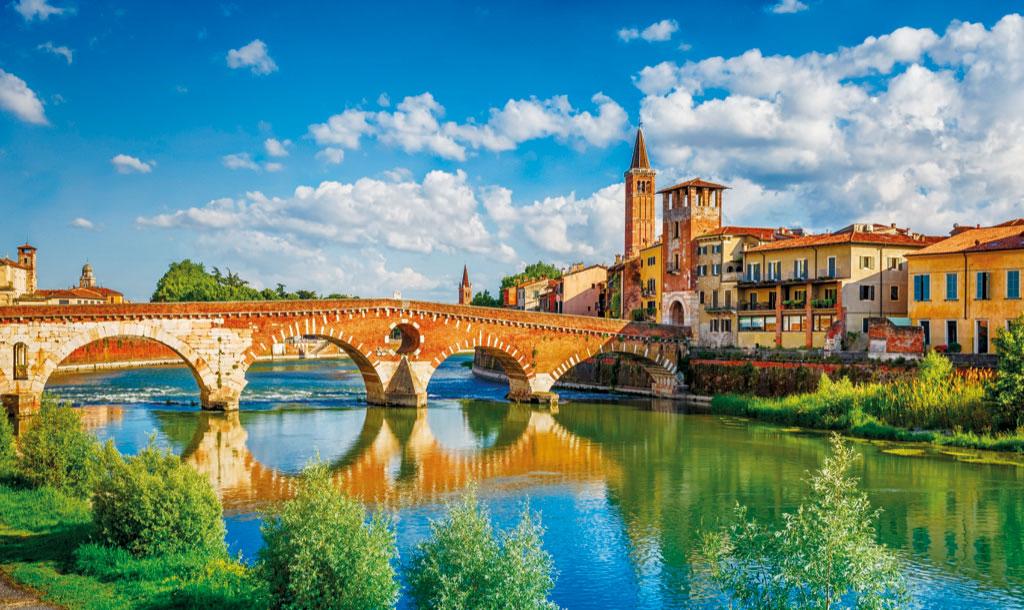 Verona und die Etsch